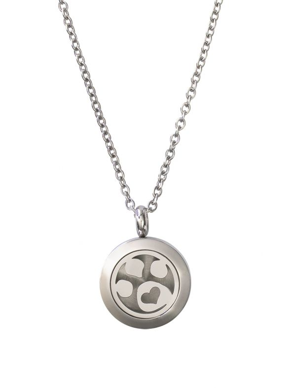 Dog Paw Essential Oil Locket