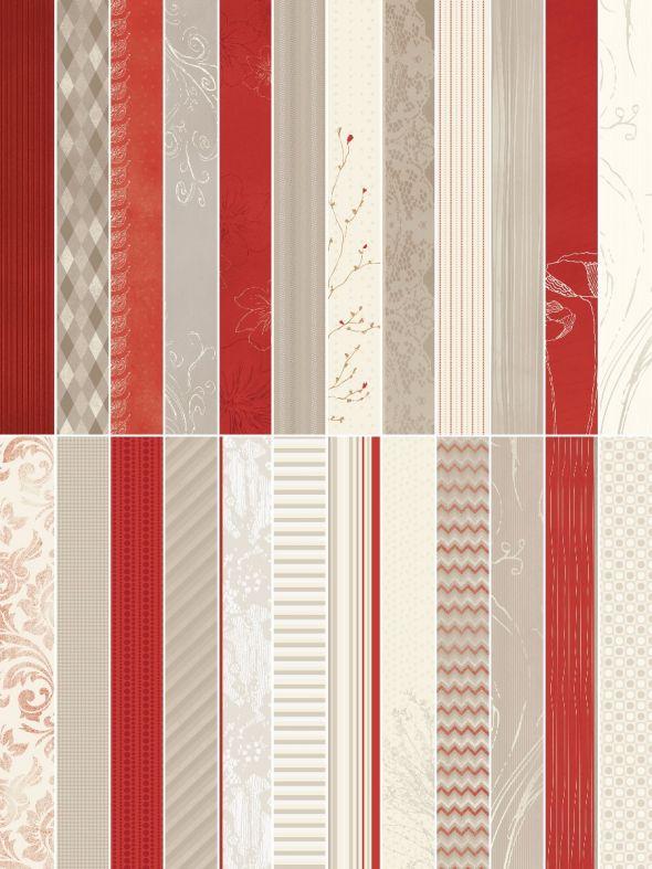 Creme de la Creme  Designer Border Strips