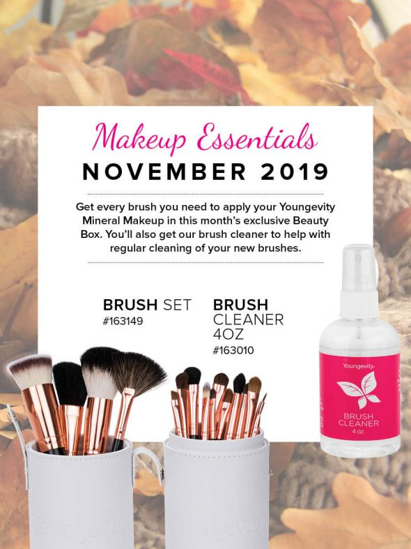 Mineral Makeup of the Month Club - November 2019